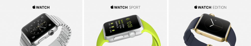 Apple Watch Sport Edition Gold