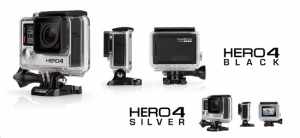 GoPro Hero4 Silver og Black Edition actionkamera 4K