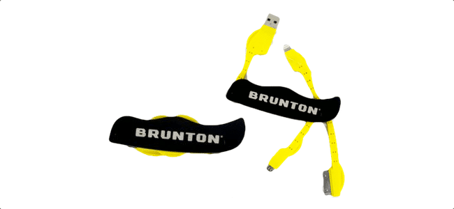Multi oplader til iPhone og Android fra brunton power knife