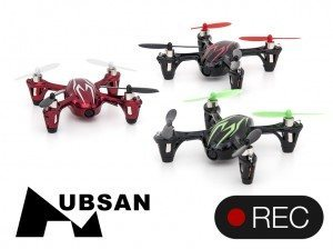 Quadcopter Hubsan X4 Mini Videooptager