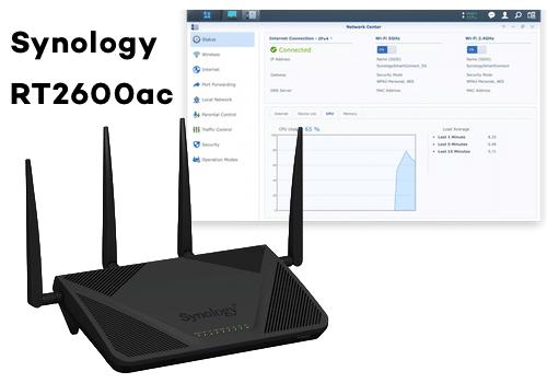 Synology RT2600ac bedste trådløse netværk