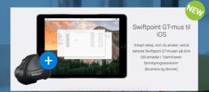 Teamviewer iPad mus fjernskrivebord