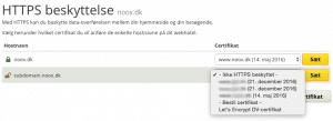 Let's Encrypt ssl certificat gratis unoeuro
